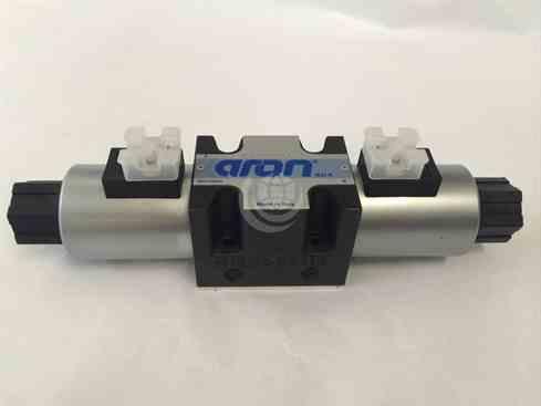Aron ADB5E04EW002 ADB5E Cetop 05 valve 4/2 DC Coil