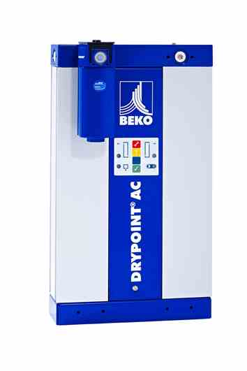 Bekomat 4006880 Compressed air adsorption dryer DRYPOINT AC type AC 126 with integrated automatic drain