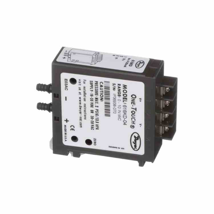 Dwyer 616KD-04 Differential Pressure Transmitter