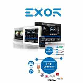 Exor TCP01R-04-0245 OPERATOR INTERFACE HMI CONTROLLER
