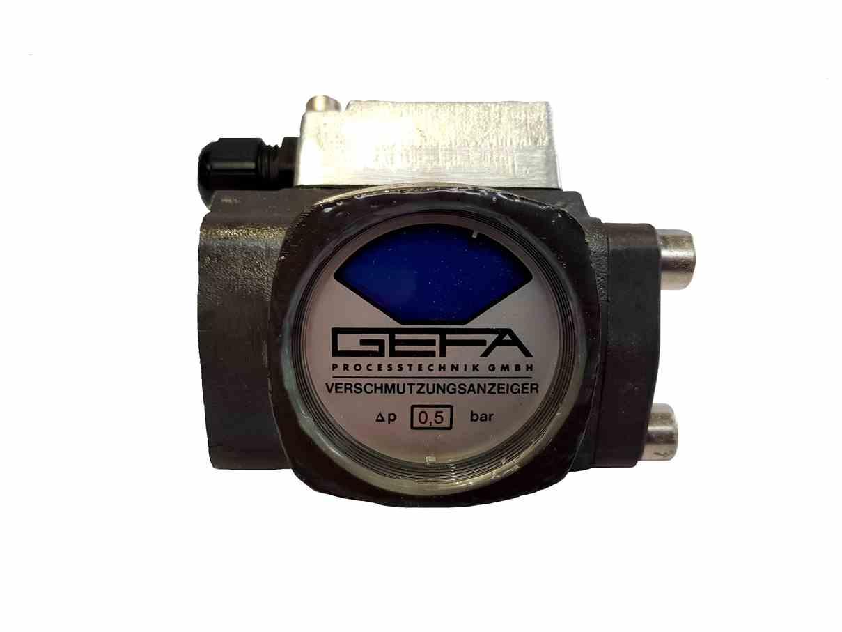 Gefa TYPE 5.02  Differential Pressure Indicator