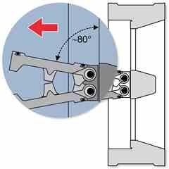 Gestra BB 25C PN 25 check valve