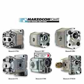 Marzocchi MOTOR INCLUDING ENGINE POWER 1.1 KW, GEAR MAIN HYDRAULIC OIL PUMP, 5 LT / MIN, EP 90 USED OIL, OIL V