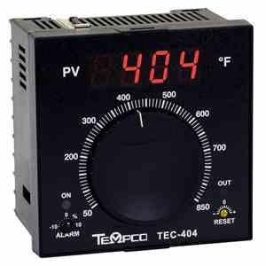 Tempco MODEL TEC-404 TEMPERATURE CONTROLLER