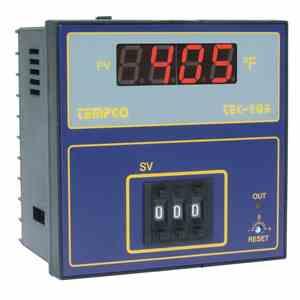 Tempco MODEL TEC-405 TEMPERATURE CONTROLLER