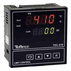 Tempco MODEL TEC-410 TEMPERATURE CONTROLLER