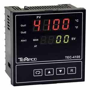 Tempco MODEL TEC-4100 TEMPERATURE CONTROLLER