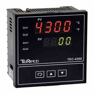 Tempco MODEL TEC-4300 TEMPERATURE CONTROLLER