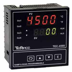 Tempco MODEL TEC-4500 TEMPERATURE CONTROLLER