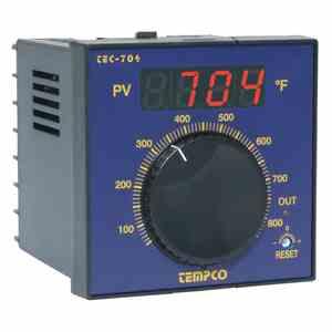 Tempco MODEL TEC-704 TEMPERATURE CONTROLLER