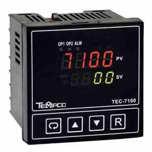 Tempco MODEL TEC-7100 TEMPERATURE CONTROLLER