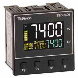 Tempco MODEL TEC-7400 TEMPERATURE CONTROLLER