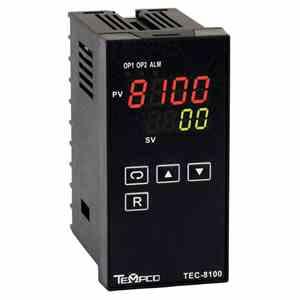 Tempco MODEL TEC-8100 TEMPERATURE CONTROLLER