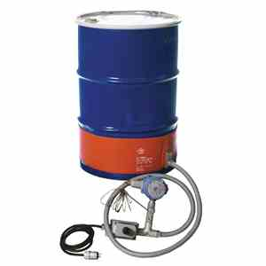Tempco SILICONE RUBBER DRUM & PAIL HEATERS