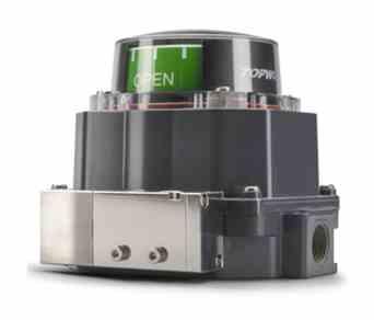 Topworx TVL-E20GNMM1A1 - M20, NAMUR 304 SS Shaft, Aluminium Base & Lid, TVL Series Valve Controller