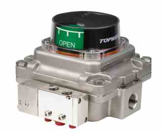 Topworx TXS-AS1GNMM168 - M20, 304 Stainless Steel Shaft, Stainless Steel, T Series Valve Controller