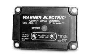 WARNER ELECTRIC CBC-160 Series  Integral Conduit Box Mounted Controls