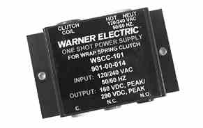 WARNER ELECTRIC Model WSCC-101  Wrap Spring Controls